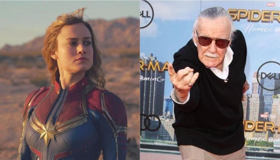 La cinta Capitana Marvel rendirá un merecido homenaje a Stan Lee. (Foto: Marvel/EFE)