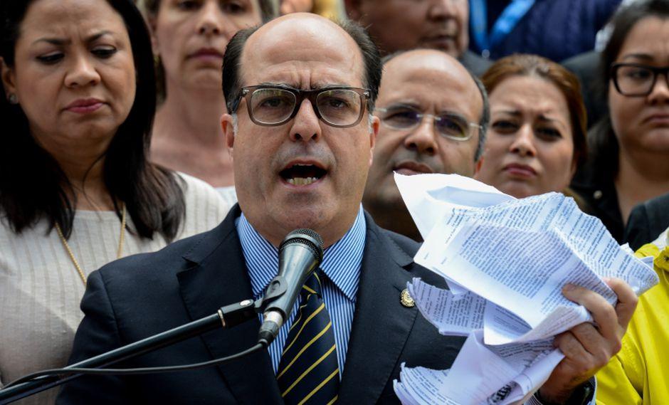 Julio Borges. (AFP)