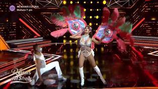"""'Reinas del show 2′: Diana Sánchez deslumbró en la pista de baile al ritmo de """"On the radio"""""""