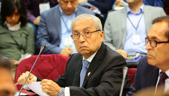 Pedro Chávarry fue denunciado por la fiscal de la Nación, Zoraida Ávalos por el ingreso a ilegal a una oficina lacrada.(Foto: Congreso)