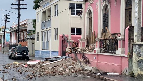 """Imagen de los daños en el municipio de Ponce. La alcaldesa María """"Mayita"""" Meléndez viene monitoreando la situación. (Twitter / Mayita Meléndez)."""