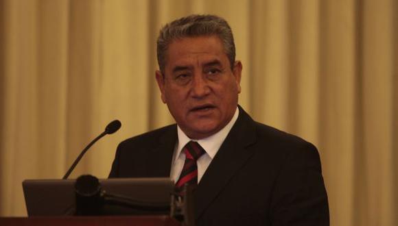 Óscar Altamirano, expresidente regional de Amazonas, responderá a la Fiscalía. (Martín Pauca)