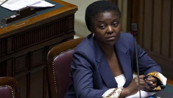 Dignidad. Kyenge es la primera ministra negra en Italia. (AP)
