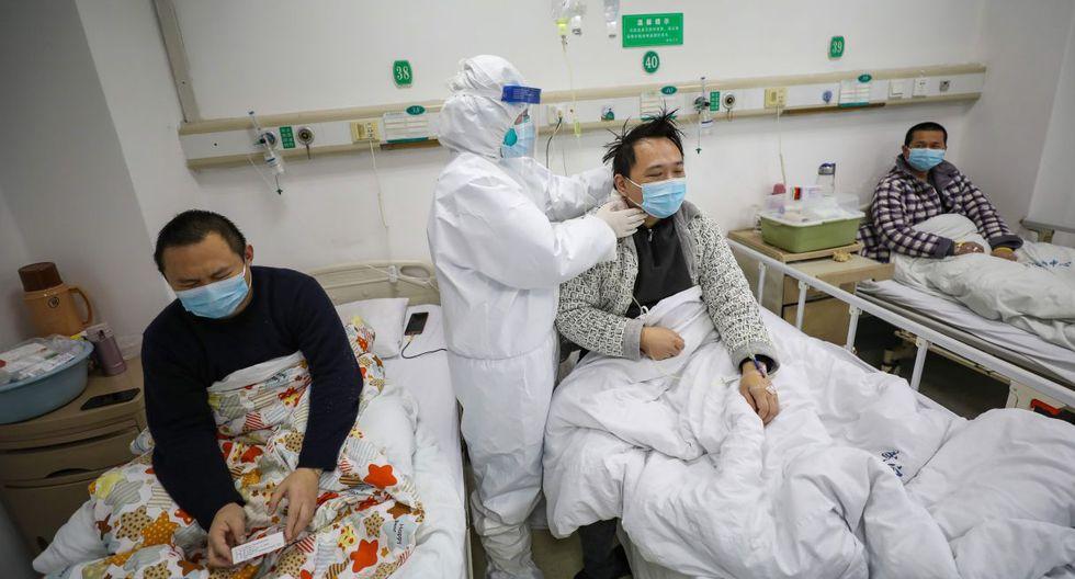 La conexión China y el coronavirus. (EFE).