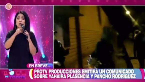 """Tula Rodríguez indignada con Yahaira Plasencia: """"Es una pena y vergüenza"""". (Foto: captura de video)"""