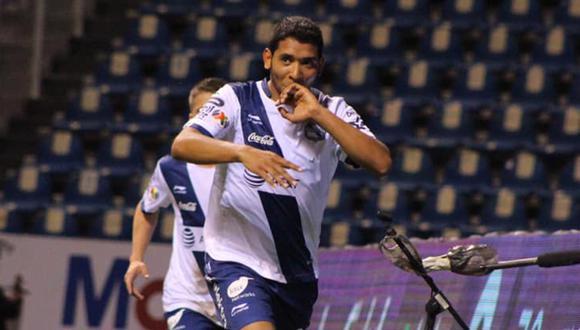 Cristian Palacios fue cedido por Puebla a Sporting Cristal. (Foto: Facebook Sporting Cristal)