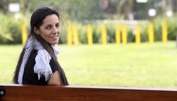 Morgana Vargas Llosa, periodista desde la fotografía. (Foto por Rolly Reyna).