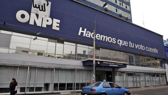 La ONPE recordó que las agrupaciones políticas tienen hasta hoy a la medianoche para convocar a elecciones internas. (Foto: Andina)