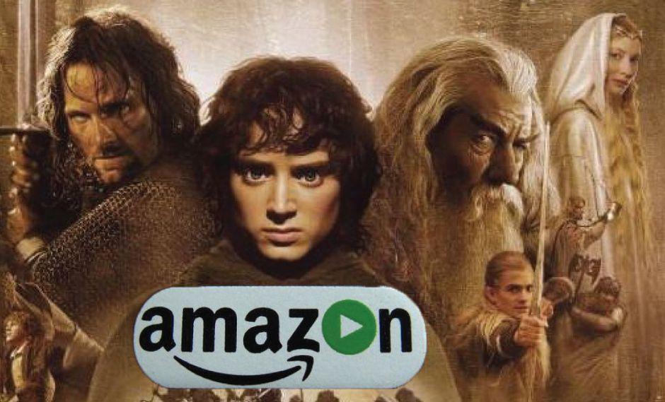 Amazon anunció que producirá serie del 'El Señor de los Anillos'. (Composición/Difusión)