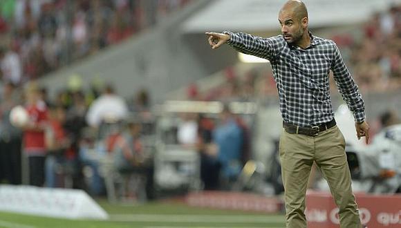 Pep Guardiola no ha tenido el arranque esperado en el campeón de Europa. (AFP)