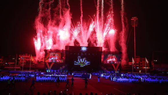 Con una ceremonia llena de música y color se puso fin a los Juegos Parapanamericanos Lima 2019. (Renzo Salazar/GEC)