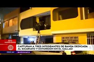 Detienen a presuntos miembros de una banda de sicarios en el Callao