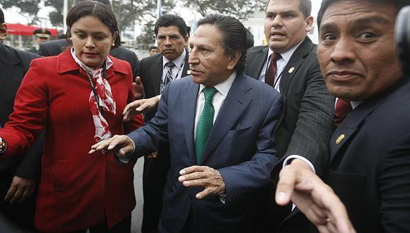 Alejandro Toledo tendrá que responder en el Congreso. (Mario Zapata)