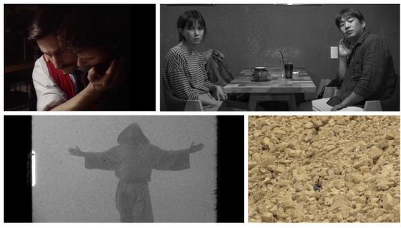 'Grandeur et décadence d'un petit commerce de cinéma' de Jean Luc Godard, 'Fraile' de Pietro Bulgarelli' , 'Grass' de Hong Sang-soo y 'A morir a los desiertos' de Marta Ferrer (Difusión).