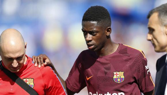 Ousmane Dembélé participa de su segunda temporada en Barcelona (Foto: AP).