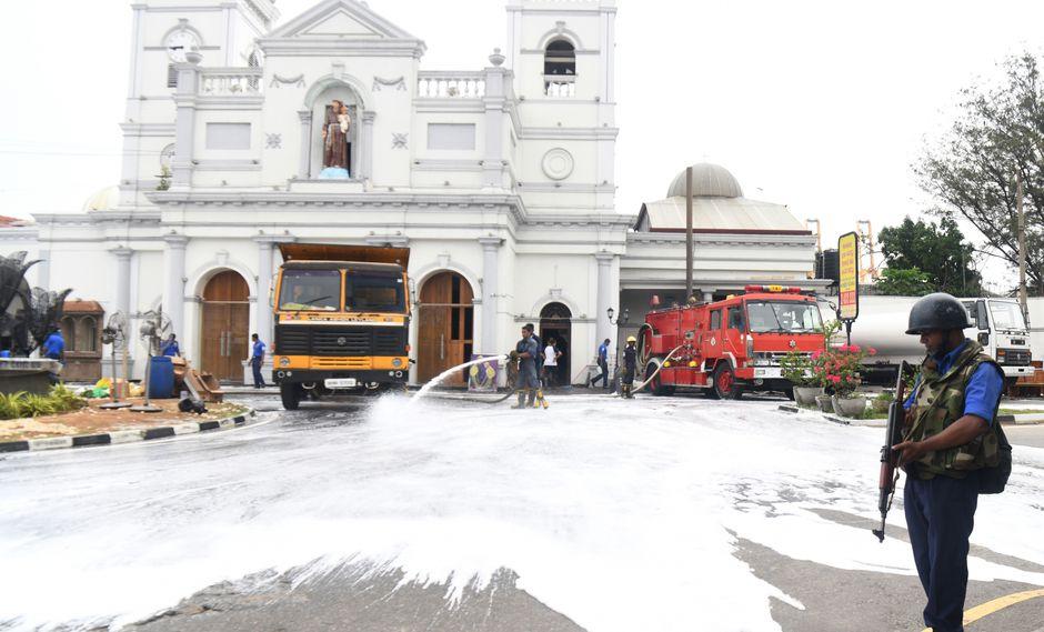 Un atentado dejó centenas de muertos en Sri Lanka la semana pasada. (Foto: AFP)