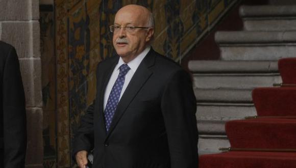 Eduardo Ferrero Costa dijo que Chile trata tema terrestre por mala interpretación del fallo. (David Vexelman)