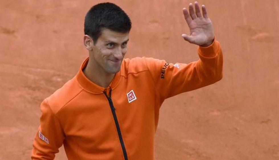 Novak Djokovic debutó con buen pie en el Roland Garros. (AFP)