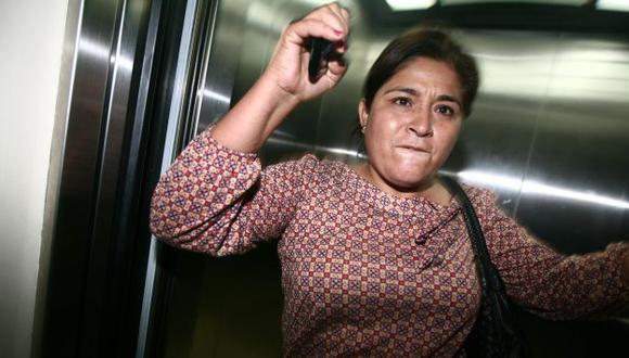 Nancy Obregón golpeó en los genitales al fotógrafo. (David Vexelman)
