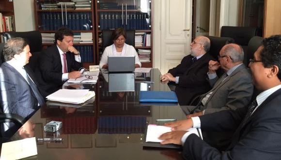 Interrogatorio a Luis Figari iniciará este martes. (Ministerio Público)