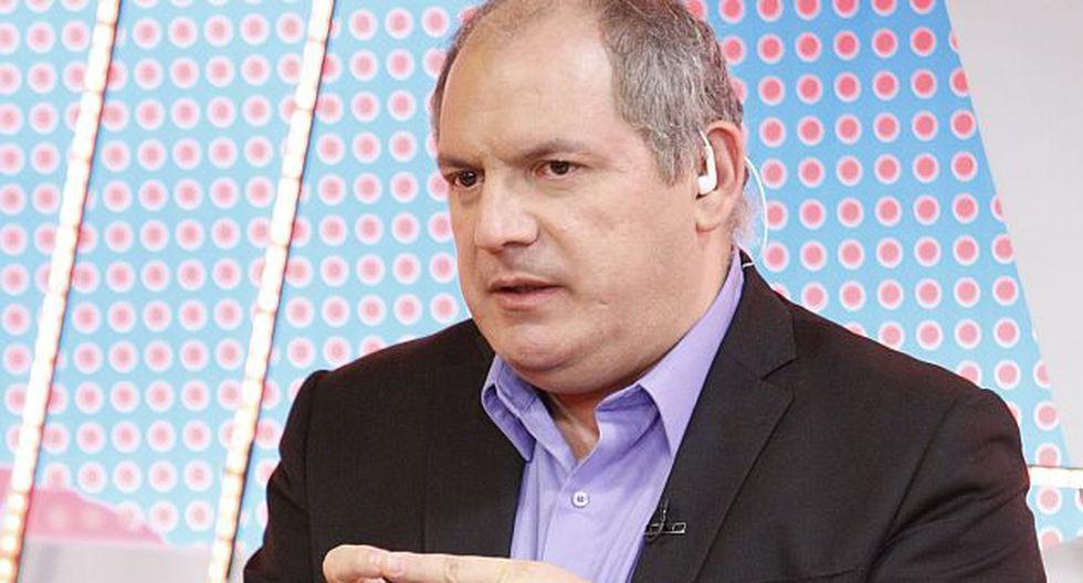 Álamo Pérez-Luna confirmó que Grupo ATV decidió desvincularlo tras ocho años de trabajo. (USI)