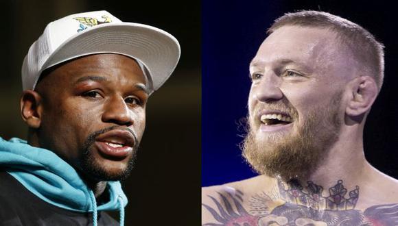 Conor McGregor aceptó formalmente su enfrentamiento con Floyd Mayweather Jr. (AP)