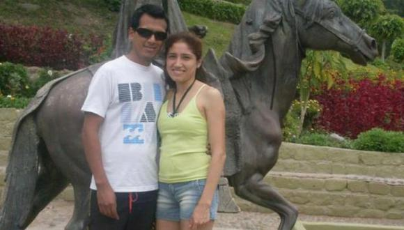 PASADO. Cuando todo era felicidad entre Luis Antonio y Rosa. (Difusión)