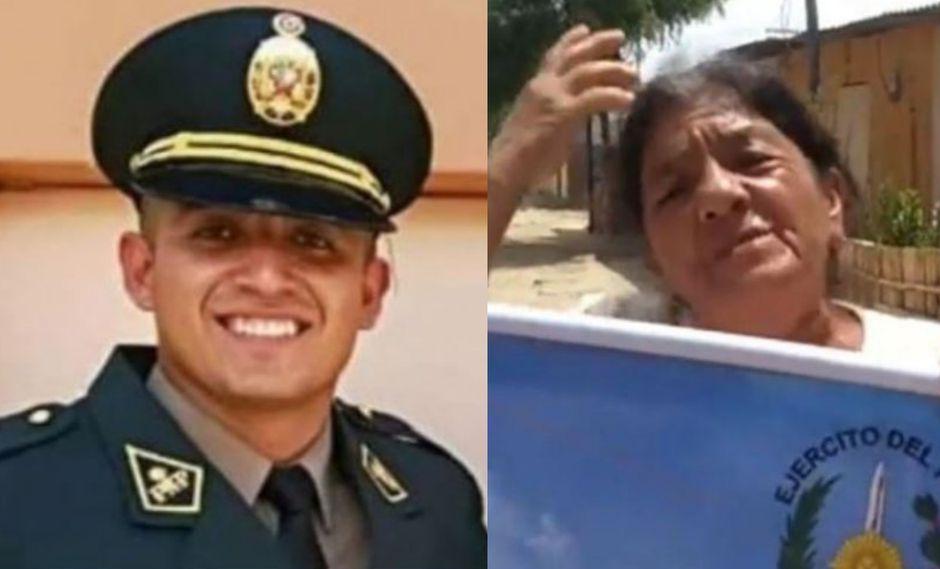 La madre del presunto delincuente rompió su silencio en torno a la muerte de su hijo en Piura. (Composición)