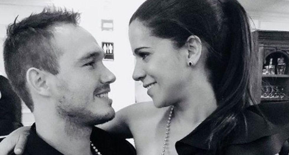 El momento en que Vanessa Terkes anuncia compromiso con George Forsyth | Foto: Instagram