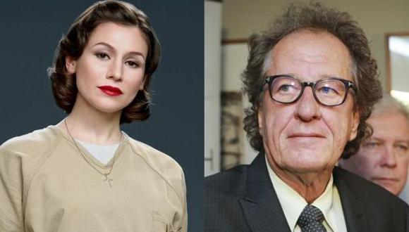 "Geoffrey Rush acusado nuevamente de acoso sexual pero esta vez por Yael Stone, quien era protagonista de la serie de Netflix ""Orange is the New Black"". (Foto: Netflix/EFE)"