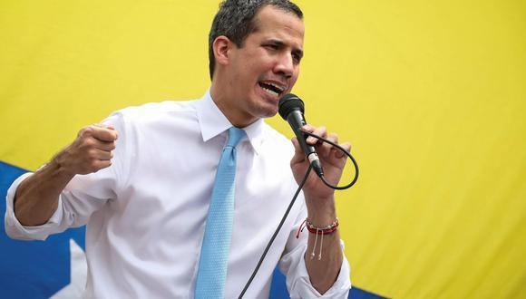 """Juan Guaidó cree que el fallido ataque a Nicolás Maduro fue un montaje de """"la dictadura"""". (Foto: EFE)"""