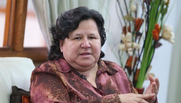 Ariela Luna, ministra de Desarrollo e Inclusión Social. (Foto: Andina)