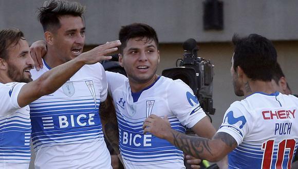 Universidad Católica y América de Cali buscan su primer triunfo en la serie que comparten con rivales brasileños: Inter y Gremio, los clásicos oponentes de Porto Alegre. (Foto: U. Católica)