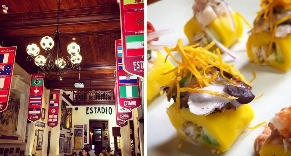 Estadio Fútbol Club es un  restaurante temático donde puedes ir a celebrar el Día del Padre. (Foto: Instagram)