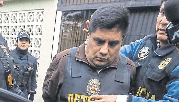 Eliseo Cuba es procesado por delito de organización criminal, junto a su padre, el exalcalde de La Victoria. (Foto archivo: GEC)
