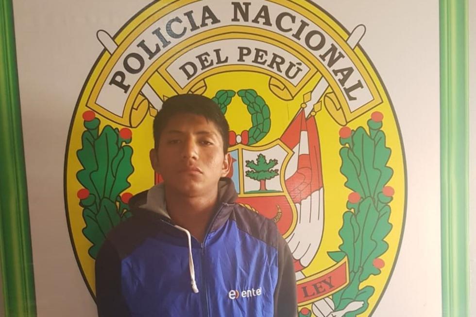 El Poder Judicial de Áncash dispuso nueve meses de prisión preventiva para César Alexander Francisco Jachilla. (Foto: PNP)