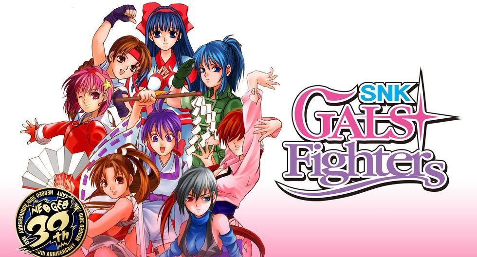 'SNK Gals Fighters' se encuentra disponible para Nintendo Switch.