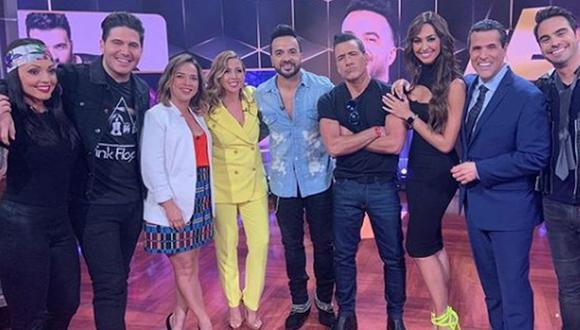 Luis Fonsi y Adamaris López se vieron las caras luego de nueve años de su divorcio y las polémicas que se generaron al rededor de ellos. (Foto: YouTube)