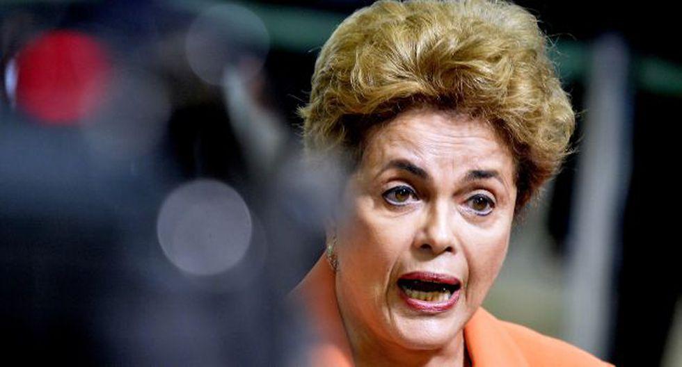 Dilma Rousseff: Se anula impeachment. (EFE)