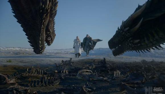 """""""Game of Thrones"""" estrenó el primer tráiler oficial de octava y última temporada de la serie hace algunas semanas. (Foto: Captura de video)"""