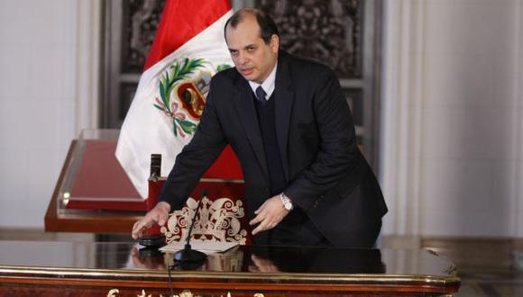 FALTA CELERIDAD. Ministro Castilla reconoce que urge avanzar con más velocidad en competitividad. (Luis Gonzales)