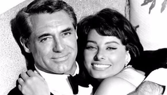 Sophia Loren confiesa que Cary Grant nunca le propuso matrimonio. (Foto: Paramount)