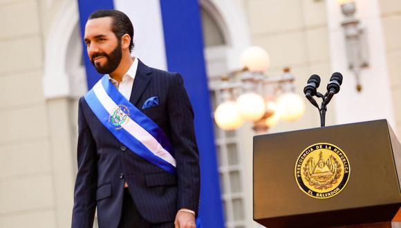 El presidente de El Salvador, Nayib Bukele, sorprendió con los últimos cambios en su cuenta de Twitter. (Foto: OFICINA DE PRENSA DE LA PRESIDENCIA DE EL SALVADOR / AFP)