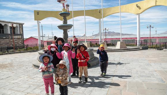 La tecnología 4& beneficiará a la comunidad campesina de Salinas Huito, provincia de Arequipa, donde viven 500 personas a más de 4,300 m.s.n.m.