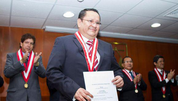Fiscal supremo adjunto, Luis Arce Córdova, cuestionó a la fiscal de la nación, a la presidenta del Poder Judicial y a los miembros de la Junta Nacional de Justicia.