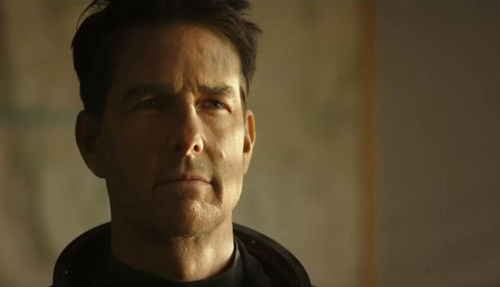 """Tom Cruise reaparece en el primer tráiler de """"Top Gun: Maverick"""". (Imagen: Captura YouTube Paramount Pictures)"""