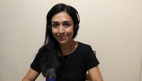 La comunicadora María Isabel Gonzales impulsa el podcast Un Día a la Vez (Foto: Archivo personal).