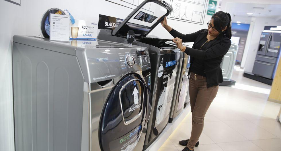 La CCL advirtió sobre el riesgo de suspender la comercialización de refrigeradoras, lavadoras y secadoras de uso doméstico en perjuicio del consumidor. (Foto: GEC)
