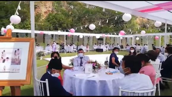 Huánuco: Boda con unos 80 invitados quedó frustrada por intervención de la PNP | VIDEO (Canal N)