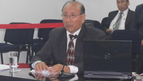 Flamante jefe. Cucho propuso un nuevo sistema de verificación de firmas para los partidos. (Difusión)